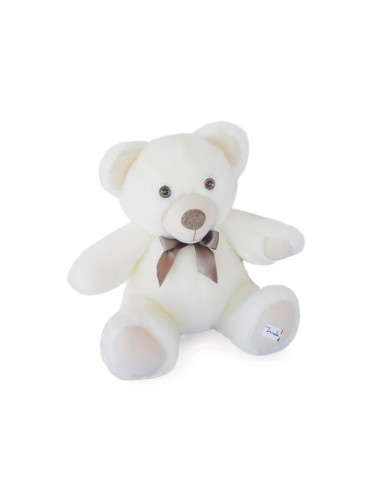 Maïlou Tradition -  L'OURS MAILOU TRADITION  35 cm - Blanc
