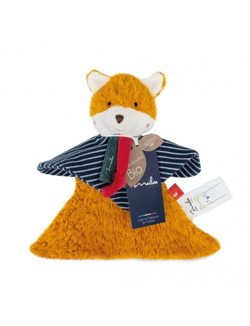 Collection Bio - RENARD doudou 22 cm / COTON BIO