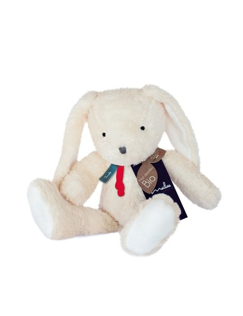 Collection BIO - LAPIN pantin 35 cm / COTON BIO